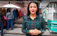 Resumen Semanal 1 Día en 2 Minutos con Angélica del Río 21 Octubre
