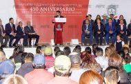 Con Sesión Solemne conmemora Cabildo de Mazapil el 450 Aniversario del Municipio