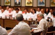 Existen condiciones inmejorables para que haya crecimiento económico   en el país, afirma AMLO en Campeche