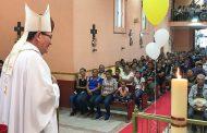 Galería Fotográfica de la Visita Pastoral del Sr. Obispo a la comunidad de Estación Camacho, Mazapil