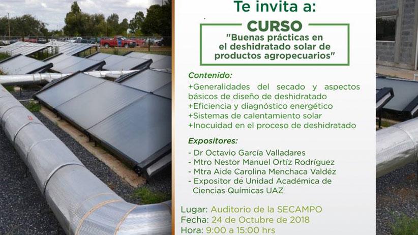 Concurso  Buenas Practicas en el Deshidratado Solar de Productos Agropecuarios