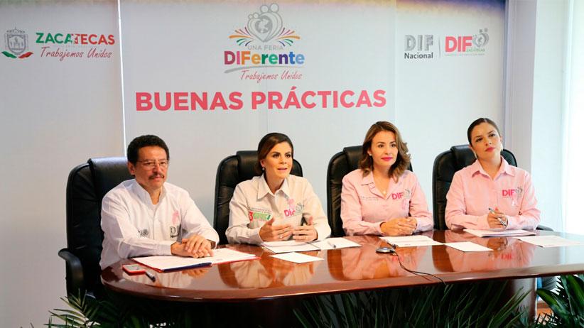 Reconoce y presenta DIF  Nacional a ferias  diferentes  como práctica exitosa en México