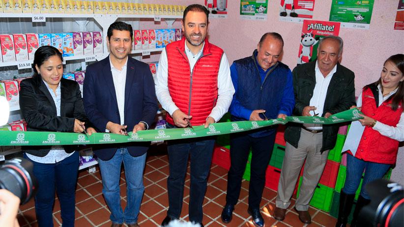 Inaugura Gobernador dos lecherías LICONSA en beneficio de 500 personas