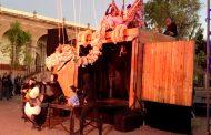Guadalupenses reciben con agrado al Festival Internacional de Teatro de Calle