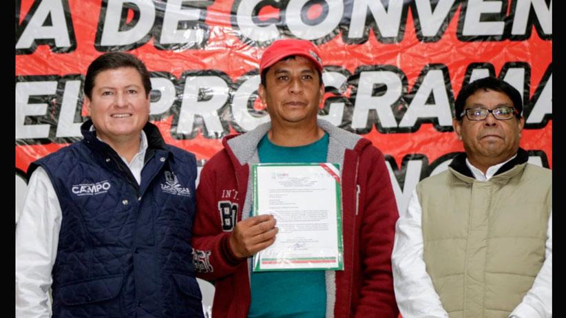 Invierte Gobierno 50 mdp para insertar a Pánuco en la dinámica del desarrollo agropecuario