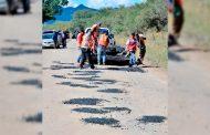 Rehabilitan carretera Jerez-Elcargadero-Palmas Altas