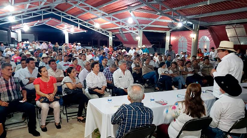 Presenta David Monreal Crédito Ganadero a la Palabra en Chiapas