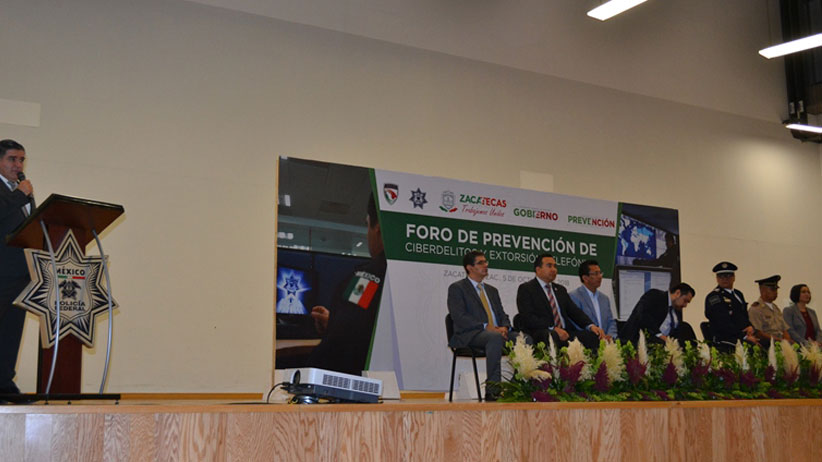 Imparte Gobierno charla sobre prevención de ciberdelitos y extorsión telefónica a estudiantes