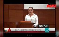 Perceptible la debilidad del Estado para garantizar Seguridad: Soralla Bañuelos de Torre