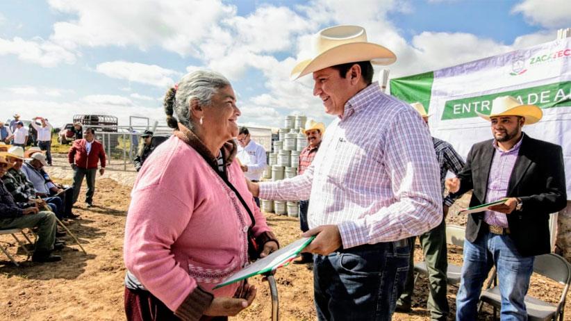 Responde Gobierno con Programas Concurrentes a necesidades del Campo Zacatecano