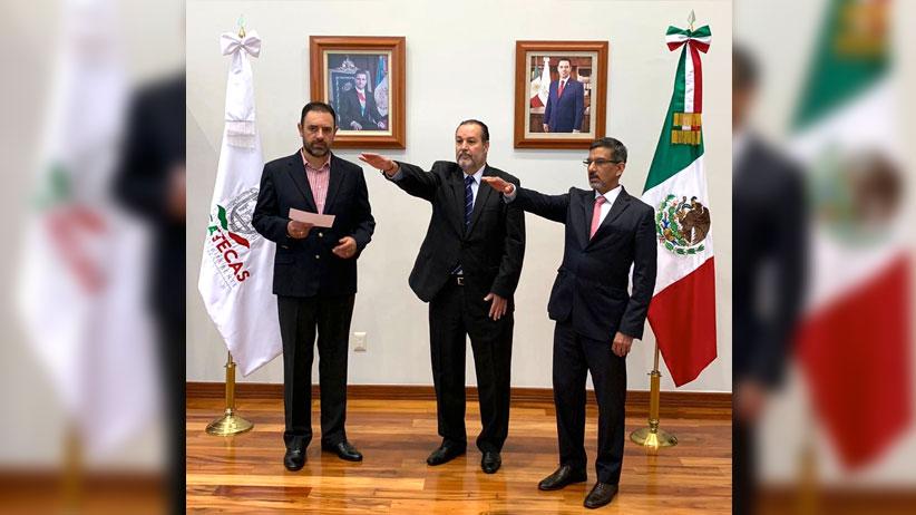 Gobernador Tello toma protesta a tres nuevos funcionarios