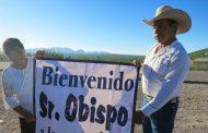 Galería fotográfica de la Visita Pastoral del Sr. Obispo a la comunidad de Tecolotes, Mazapil