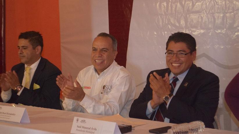 Acuerdan gobierno  de Tello  y  H. Ayuntamiento de Fresnillo trabajar unidos para generar empleos