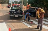 Rehabilita Gobierno Estatal señalética vial en varios Municipios