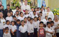 Galería fotográfica de la Visita Pastoral del Sr. Obispo a la comunidad de San Juan de los Cedros, Mazapil