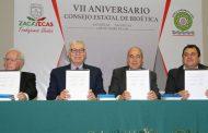 Conmemora Gobierno de Zacatecas VII  Aniversario del Consejo Estatal de Bioética
