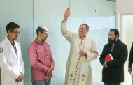 Galería fotográfica de la bendición por parte del Sr. Obispo al nuevo Centro de Salud del IMSS en la comunidad de Cedros, Mazapil