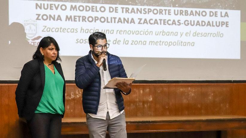 Socializa Gobierno del Estado propuesta de modelo de transporte urbano con estudiantes universitarios