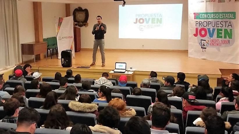 Exhorta Gobierno del Estado a alumnos del Tecnológico de Jerez a participar en Concurso Propuesta Joven