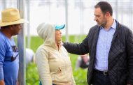 Apoya Alejandro Tello a productores para exportación de 1,500 toneladas de hortalizas