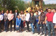 Dora Isabel Jáuregui inicia Programa Municipal de Rehabilitación del Caminos Rurales