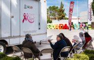 Ayuntamiento de Guadalupe atiende a mujeres para la Detección temprana en Cáncer de mama
