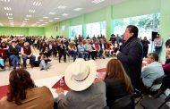 Concluye David Monreal gira por Zacatecas, suma 17 estados visitados
