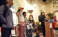 Se inauguró con gran éxito la  exposición Santa Calavera