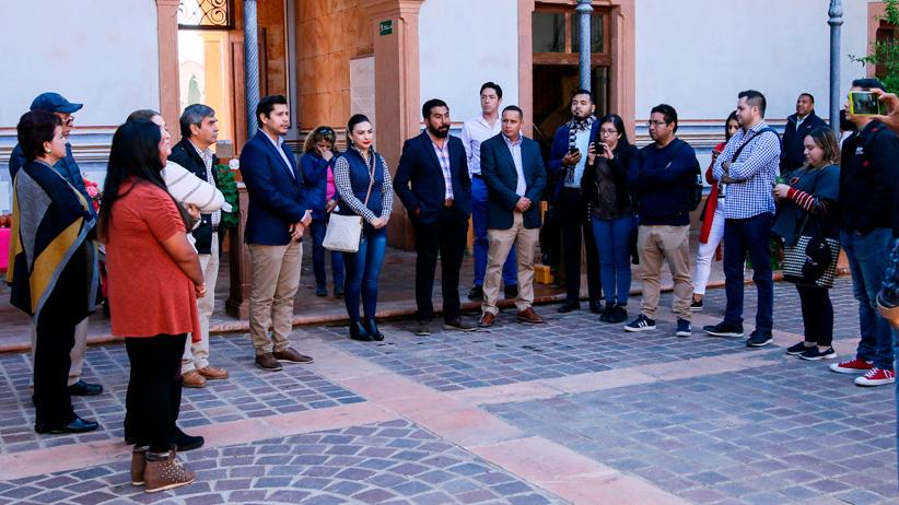 Alcalde de Guadalupe promueve el turismo con organismos internacionales