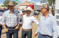 Recibe Mario Castro visita de Alejandro Tello en García de la Cadena