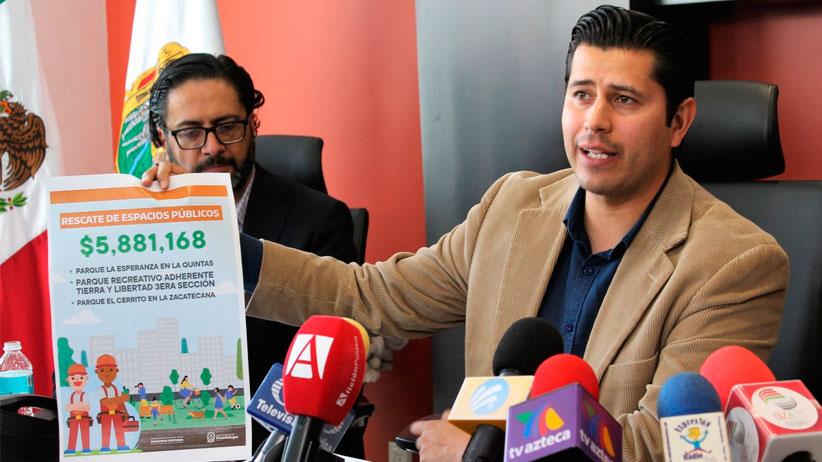 Julio César Chávez dio a conocer resultados de los primeros 50 días al frente del gobierno municipal de Guadalupe