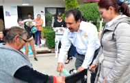 Miguel Torres entrega de Aparatos Funcionales para la gente vulnerable