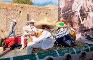 Realizan en Pinos desfile del 108 aniversario de la Revolución Mexicana