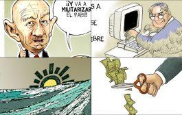 Cuatro cartones que nos recuerdan la realidad de nuestro país