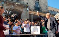 No voy a dejarme chantajear por nadie, afirma López Obrador al emitir su voto en la Consulta Nacional Programas Prioritarios
