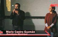 """Exitosa función de """"Cine al Aire Libre"""" en García de la Cadena"""
