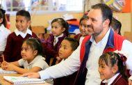 Con la rehabilitación de Escuelas, Gobernador mejora condiciones de estudiantes de zonas rurales