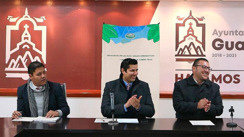 Guadalupe es el primer municipio en el Estado en firmar carta Ambiental Interamericana