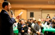 Hagamos un gran equipo por Zacatecas, pide Alejandro Tello a Migrantes