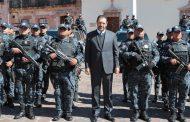 La seguridad es prioridad y con unidad lograremos buenos resultados: Gobernador