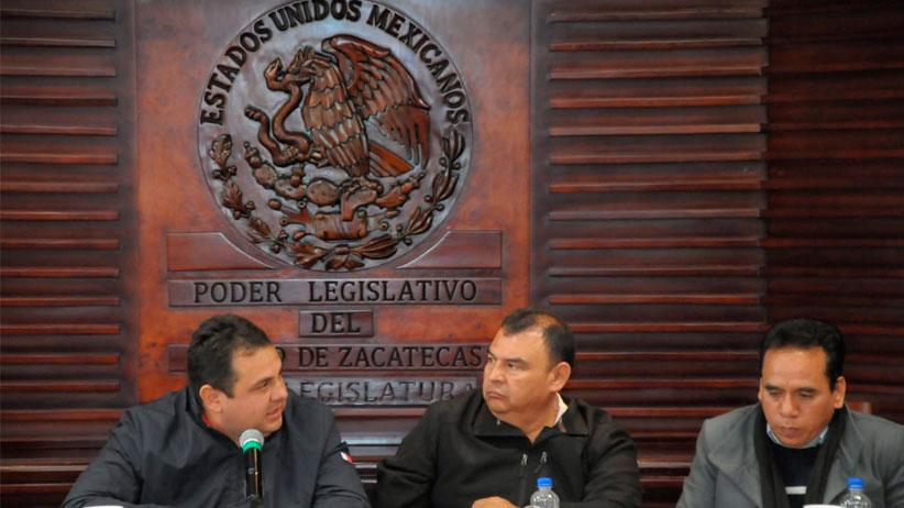 Recibe Comisión de Vigilancia a rector, trabajadores y académicos de la UAZ