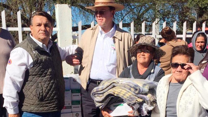 Concluye Gobierno Estatal con entrega de apoyos invernales en beneficio de 28 mil zacatecanos