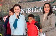 Continúa Entrega de Apoyos Invernales en Mazapil