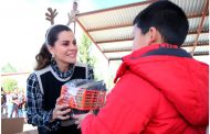 Reciben habitantes de Tepetongo, Susticacán y Jerez más de 4 mil Apoyos Invernales
