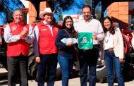 Entregan Maquinaria Agrícola para productores del sur de Zacatecas