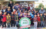 Reciben estudiantes de Loreto beneficios del programa Más de Mil Obras para Zacatecas
