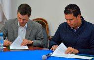Firman convenio ISSSTEZAC y Ayuntamiento de Calera en beneficio de trabajadores municipales