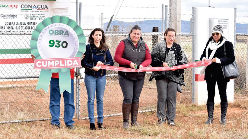 Genaro Codina se beneficia con Programa de Más de Mil Obras para Zacatecas