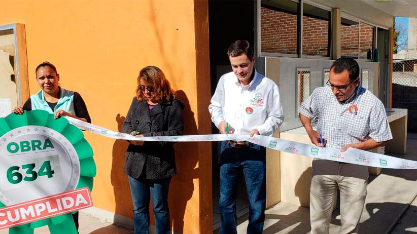 Con Más de Mil Obras para Zacatecas, lleva Gobierno de Tello beneficios para Juan Aldama