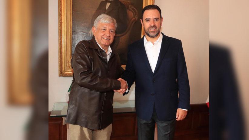 Trabajarán unidos Gobiernos Federal y de Zacatecas por mejorar la seguridad y el desarrollo económico del Estado